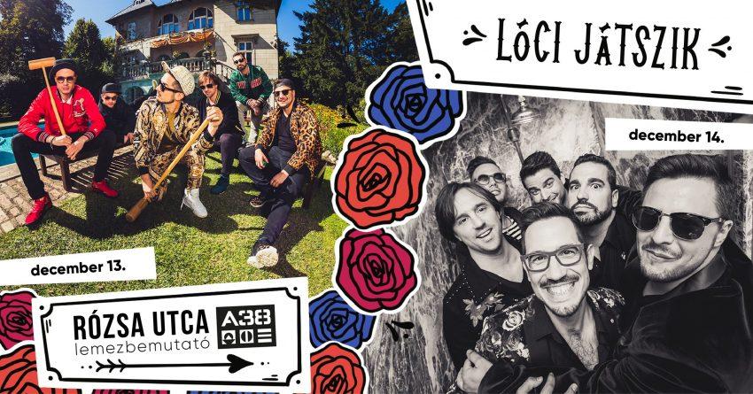 Budapesti programok a hétvégén: Lóci játszik - Rózsa utca DUPLA lemezbemutató - panel nap