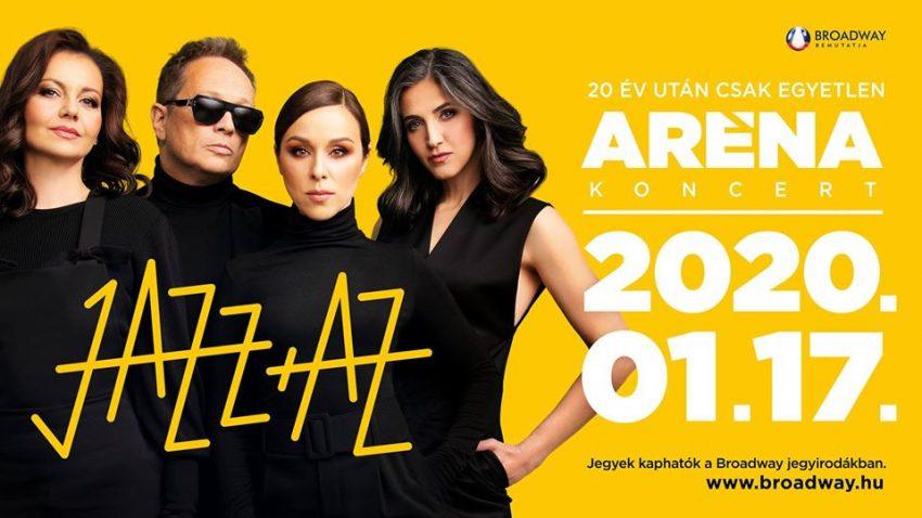 Pénteki programok (január 17.): Jazz+Az koncert