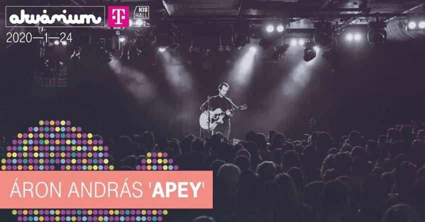 Budapesti programok a hétvégén: Áron András 'Apey' // Akvárium