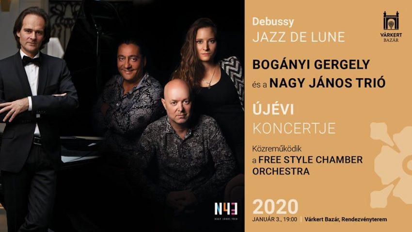 Hétvégi programok Budapesten: Bogányi Gergely és a Nagy János Trió újévi koncertje