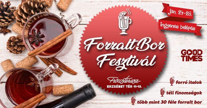 I. Forralt Bor Fesztivál a Fröccsteraszon