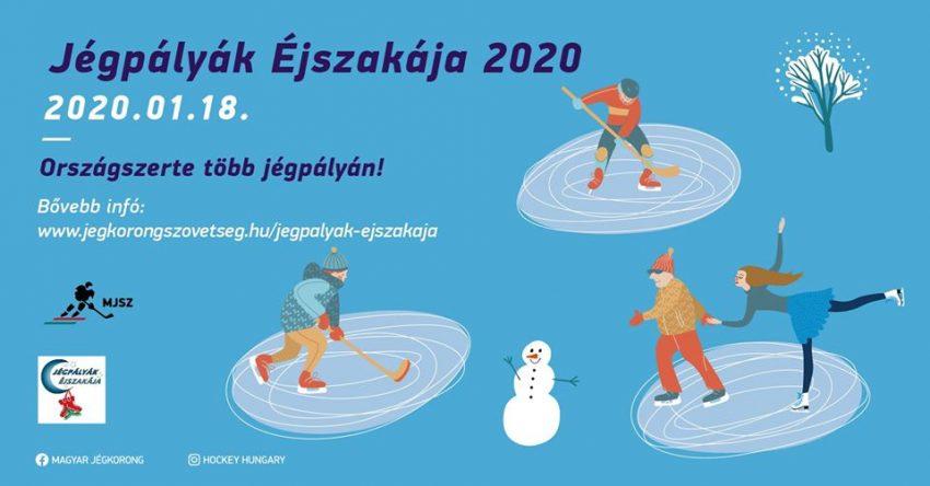 Jégpályák Éjszakája 2020