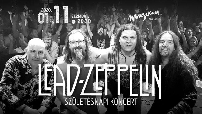 Lead Zeppelin 16. születésnapi koncert - Január 11.