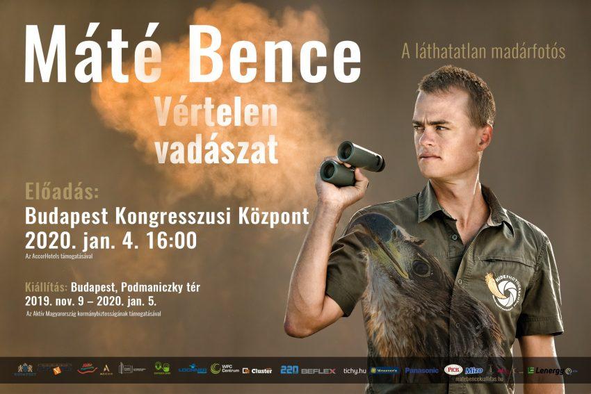 Januári programok Budapesten 2020: Máté Bence - Vértelen vadászat