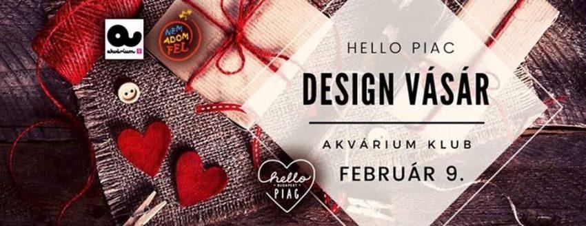 Hello Piac Design Vásár / Akvárium Klub / 02.09.