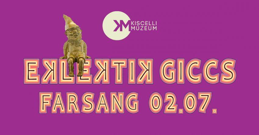 Farsangi bulik Budapesten: Eklektik Giccs Farsang /// Kiscelli