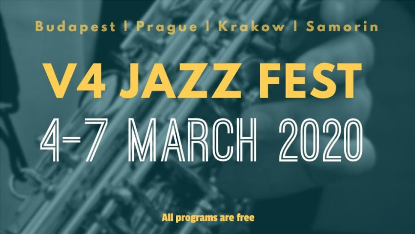 Hétvégi programok Budapesten: V4 Jazz Fest