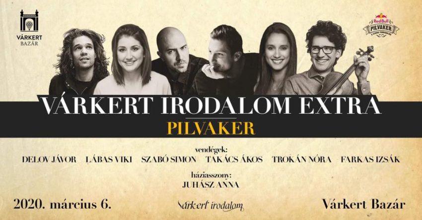 Programok hétvégére Budapesten: Pilvaker extra