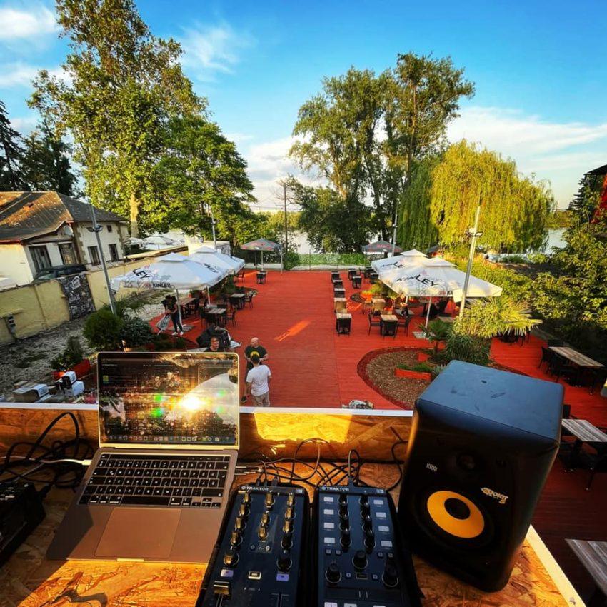 Teraszos étterem Budapest: Csini Terasz