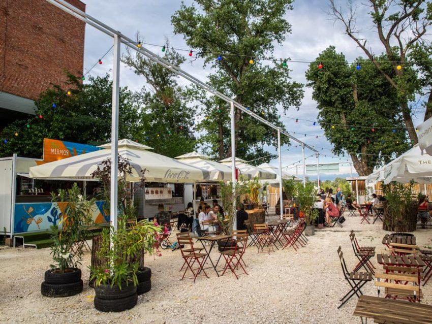 Budapest étterem terasz: Miamor Rómaim