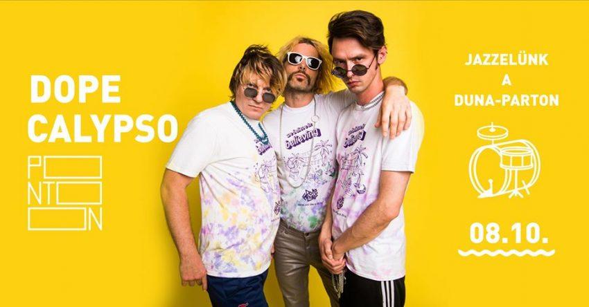 Duna-parti program Budapesten: Jazzelünk a Duna-parton - Dope Calypso (2020. augusztus 10.)