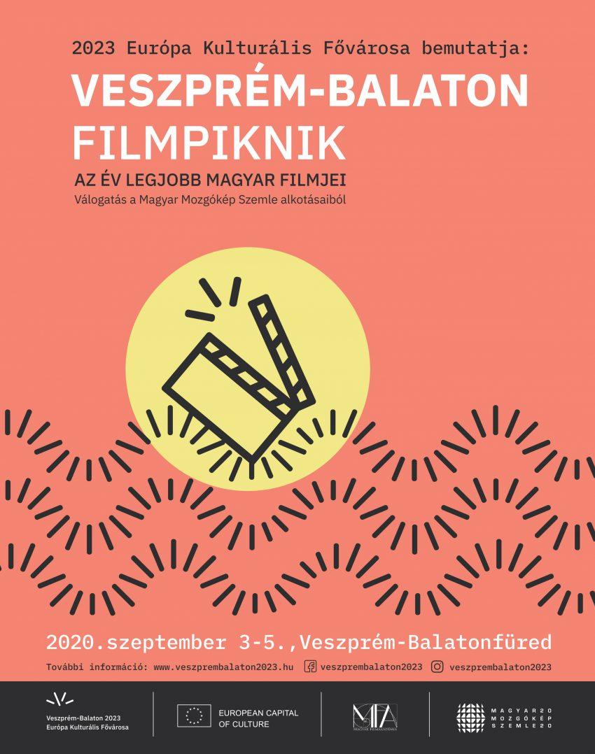 Ingyenes program: Íme a Veszprém-Balaton Filmpiknik plakátja