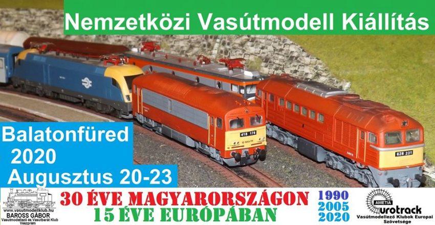 Balatonfüred programok 2020 augusztus: Vasútmodell kiállítás