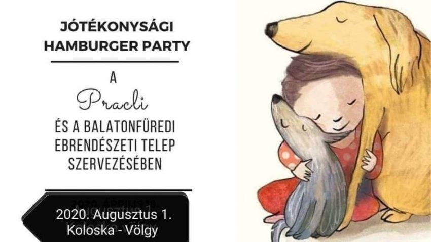 Balatonfüred programok 2020 augusztus: Jótékonysági Kutyás Hamburger Party
