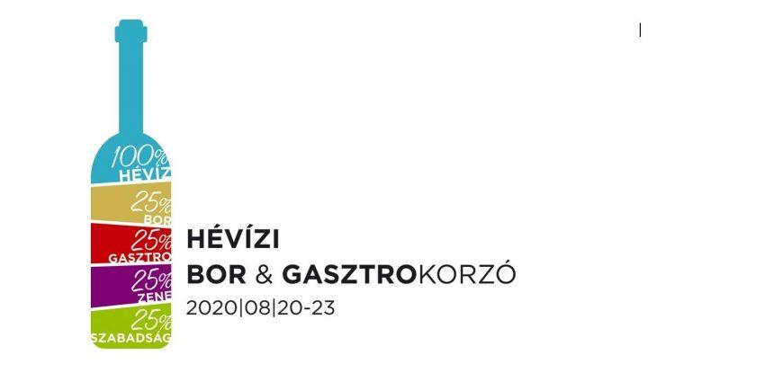 Hévíz programok 2020 augusztus: BOR és GASZTROkorzó