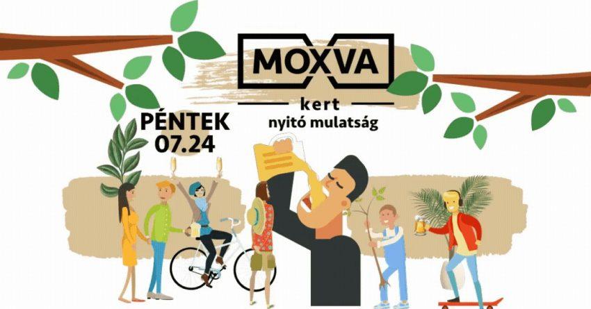 Budapesti programok a hétvégén: Moxva kert nyitó mulatság