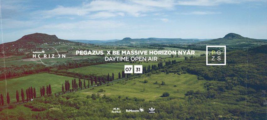 Hétvégi programok Balaton: Be Massive Horizon x Nyár x Szentbékkálla