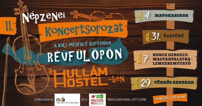 Progamok a Balatonnál 2020: II. Népzenei koncertsorozat a Hullámban