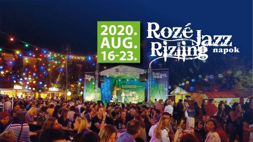 Veszprém programok 2020 augusztus: Rozé, Rizling és Jazz Napok