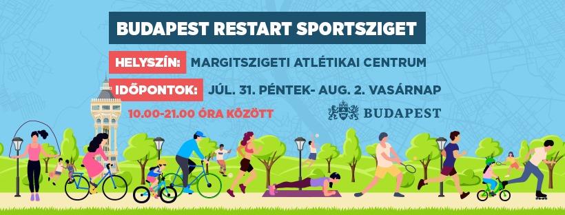 Budapesti programok a hétvégén: Budapest Restart Sportsziget