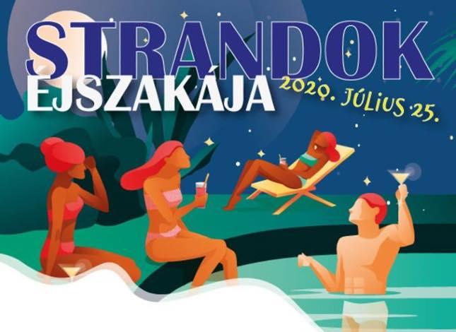 Strandok éjszakája 2020 Budapest