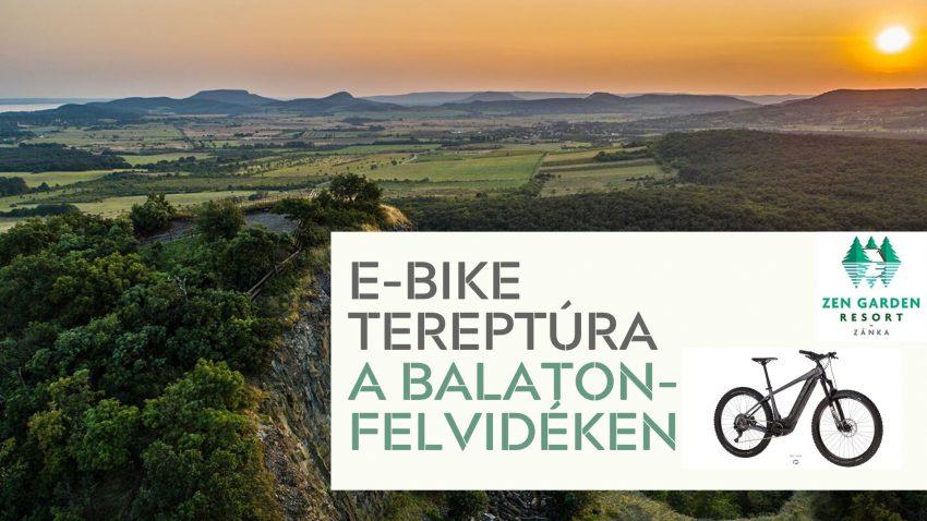 Balatoni programok 2020 augusztus: E-bike túra