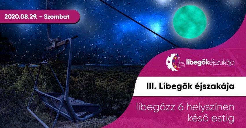 Hétvégi programok Budapesten: Libegők Éjszakája 2020