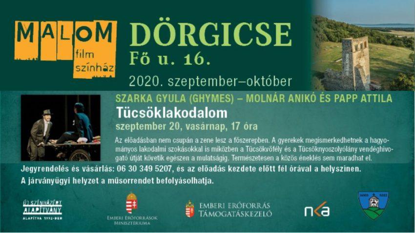 Szarka Gyula (Ghymes) – Tücsöklakodalom (2020. szeptember 19., Dörgicse)