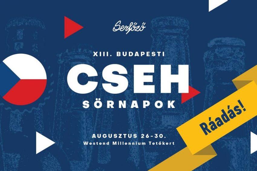 XIII. Budapesti Cseh Sörnapok !Ráadás! (egész hétvégén)