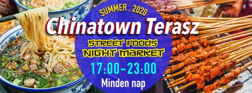 Programok Budapest 2020 szeptember: Chinatown