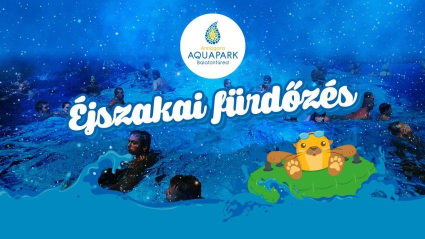 Augusztus 20-i programok Balatonfüreden: Éjszakai fürdőzés