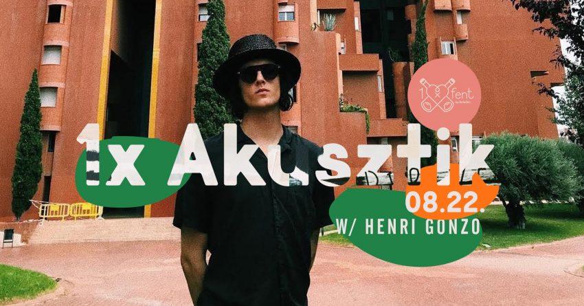 Ünnepi programok Budapesten: Henri Gonzo