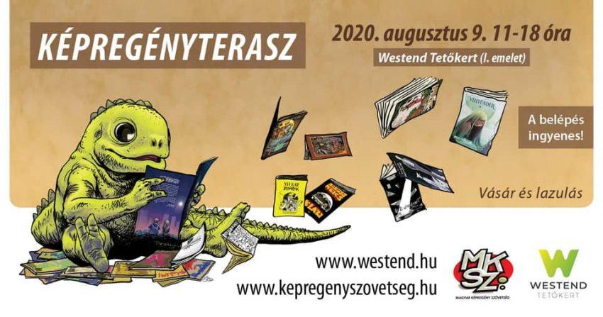 Ingyenes programok Budapesten: Képregényterasz