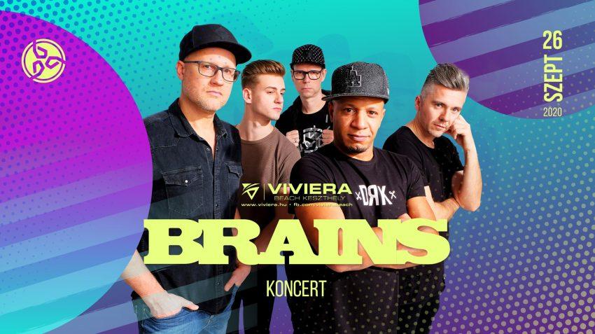 Keszthely programok 2020 szeptember: Brains koncert