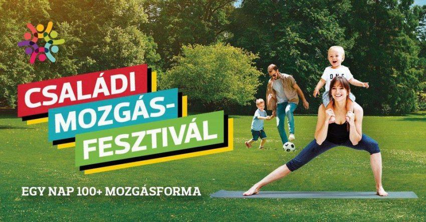 Ingyenes programok budapest 2020 szeptember: Családi mozgásfesztivál