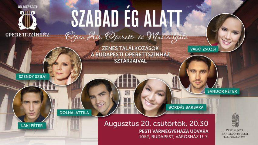 Augusztus 20 ünnepi programok Budapesten: Szabad ég alatt
