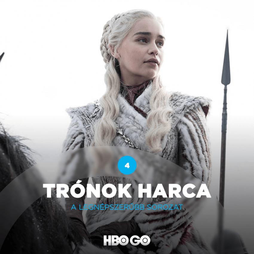 HBO GO legjobb sorozatok 2020-ban: Trónok harca