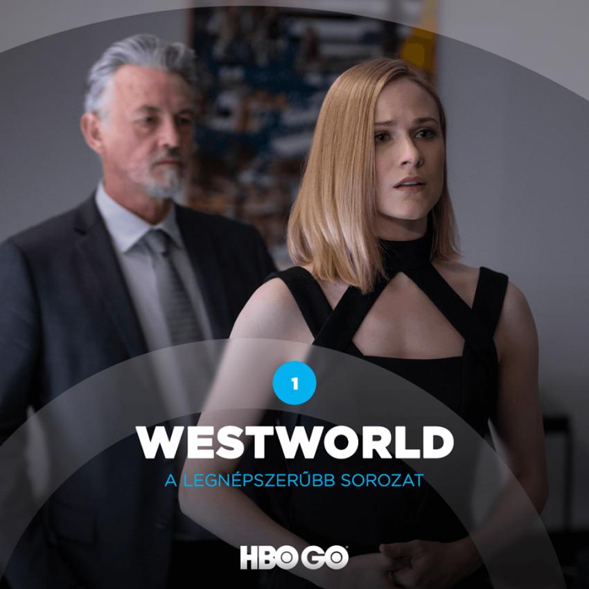 A legjobb sorozat az HBO GO-n 2020-ban: Westworld
