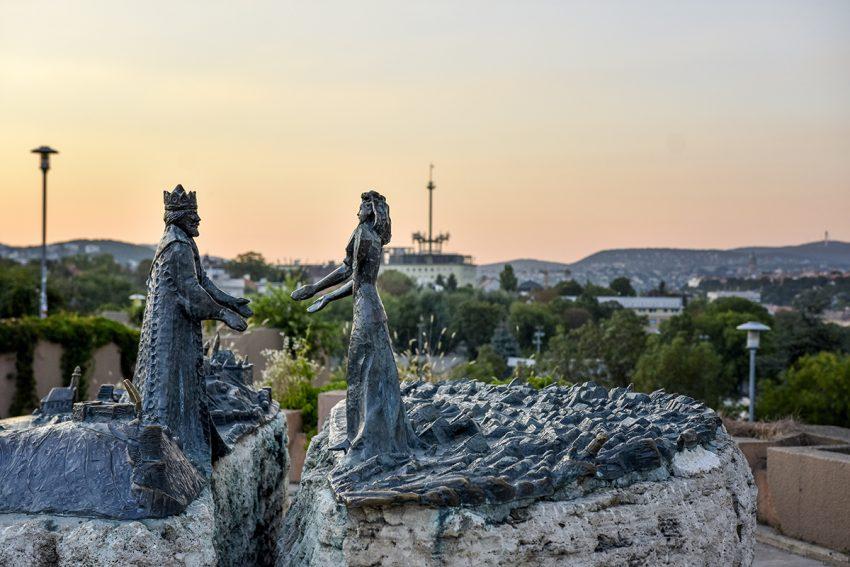 Digitális Vándor, Gellért-hegy, Buda királyfi és Pest királykisasszony