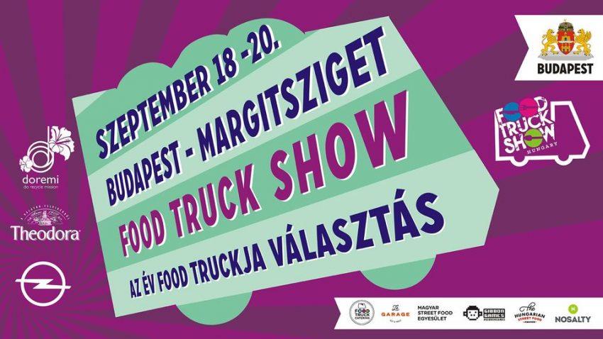 Budapesti programok a hétvégén: Food Truck Show
