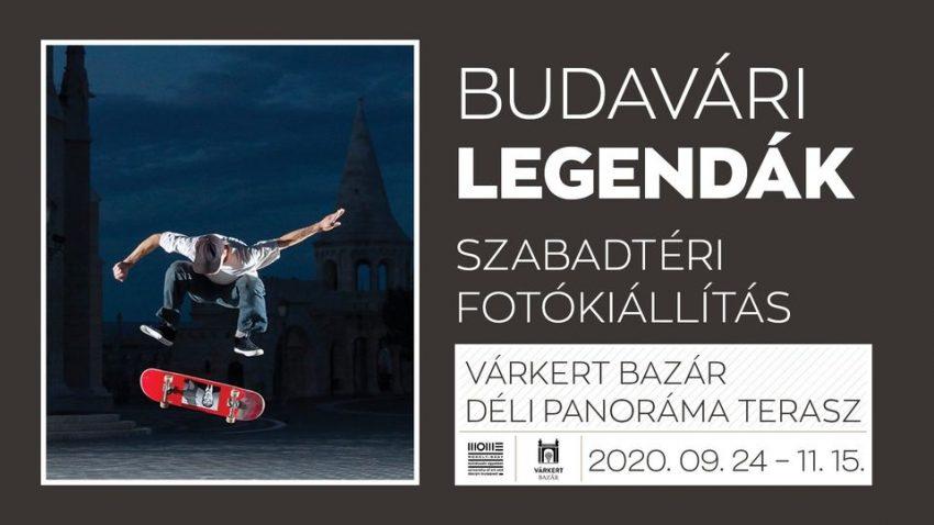 Budavári Legendák szabadtéri fotókiállítás (2020. október 23-24.)