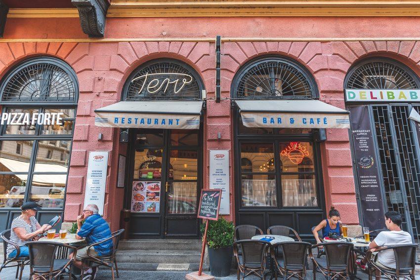 Ebédmenü Budapesten: Terv