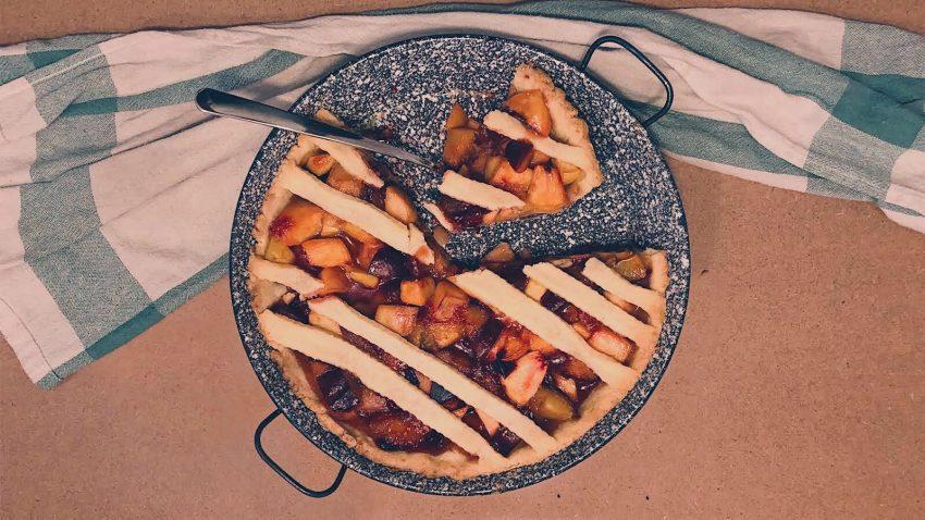 Szilvás pite linzertésztából (recept)