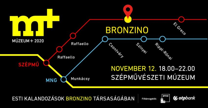 Kiállítás Budapest 2020 november: Bronzino