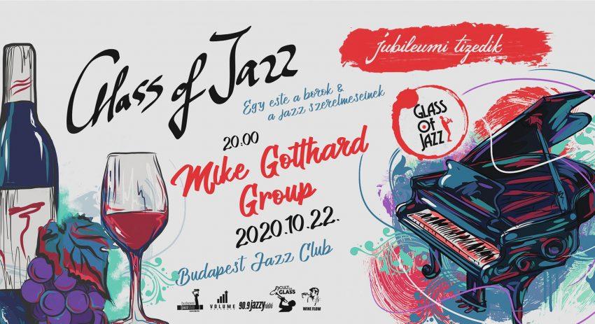 2020 október 23 ünnepi programok Budapest: Glass of Jazz
