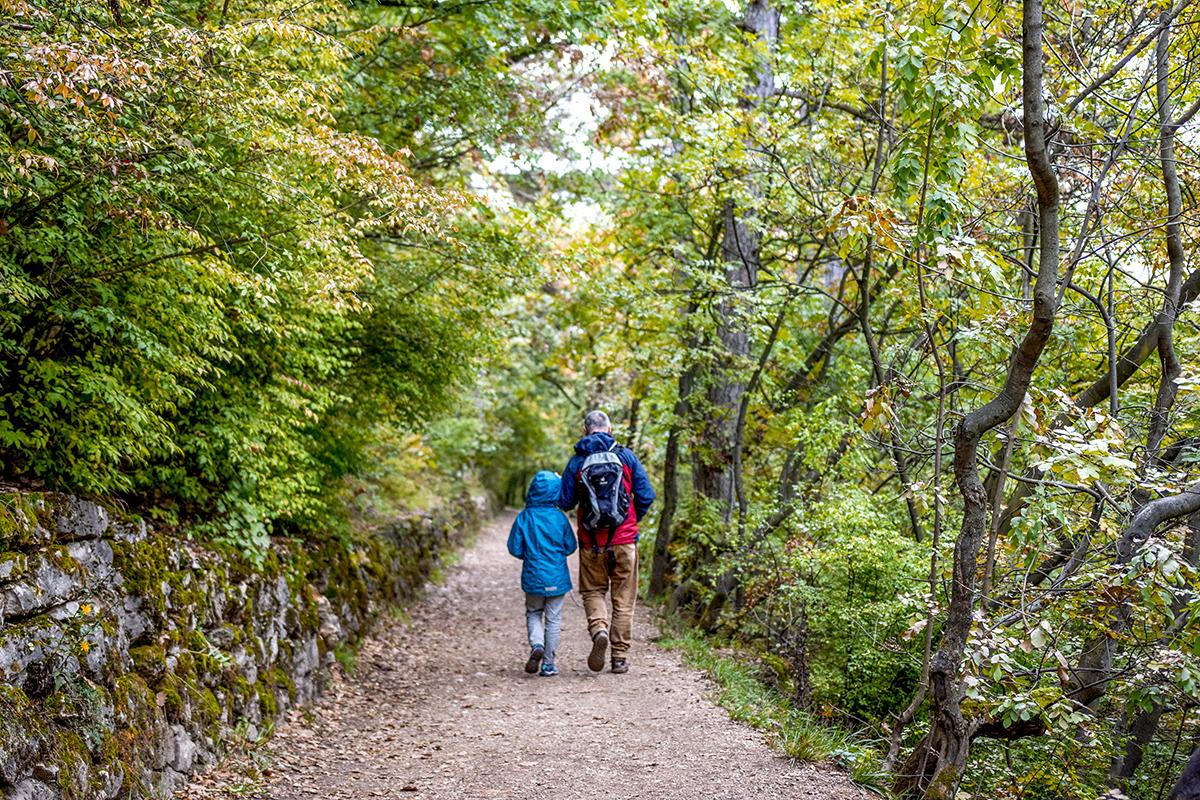 Végigmentünk Vuk ösvényén az Oroszlán-szikláig