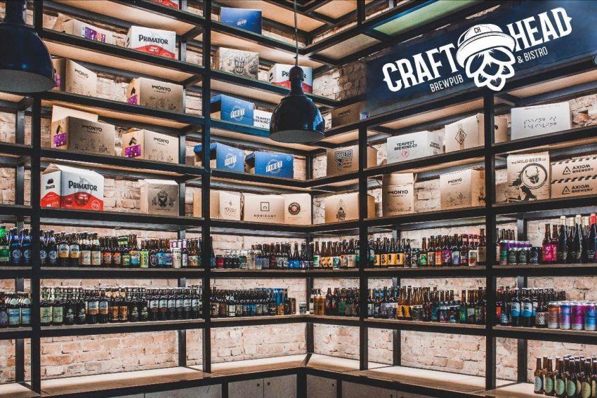 Megnyílt a Craft Head - Budapest új gasztró sörbárja és bottleshopja