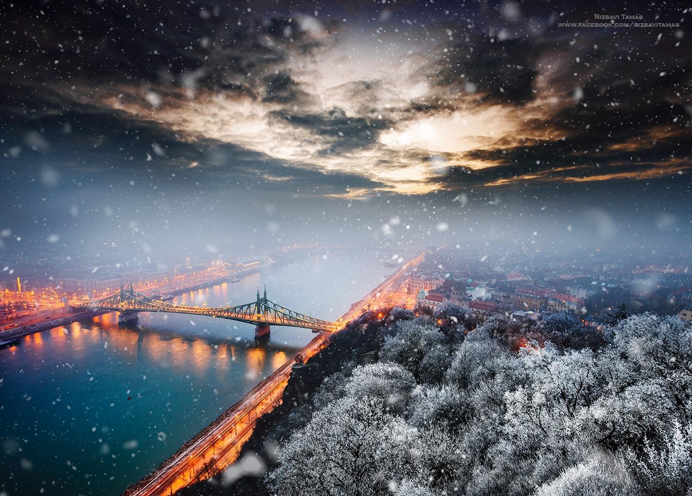 Rizsavi Tamás 12 gyönyörű felvétele Budapestről az elmúlt 12 hónapból