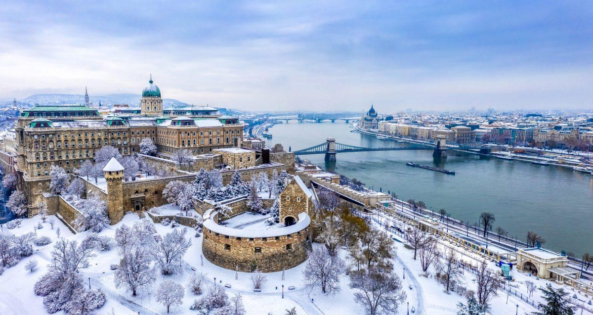 Új évi séta a Budai Várban: Oroszlánok, vörös sün és szfinx mutatják az utat