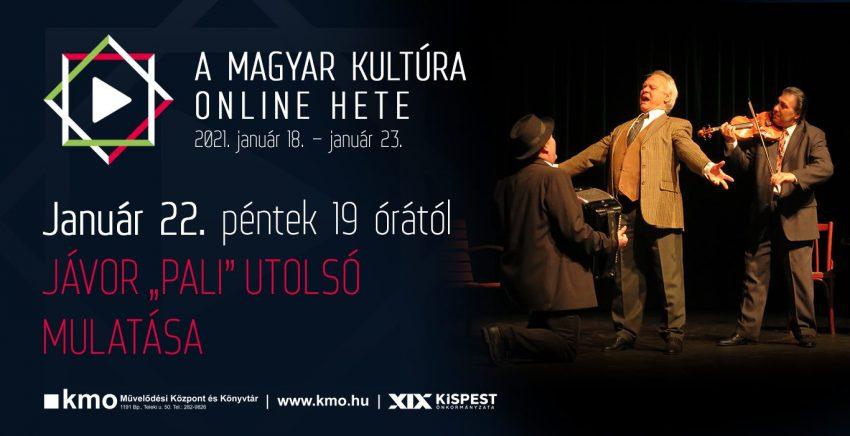 A magyar kultúra napja 2021 - Online színház